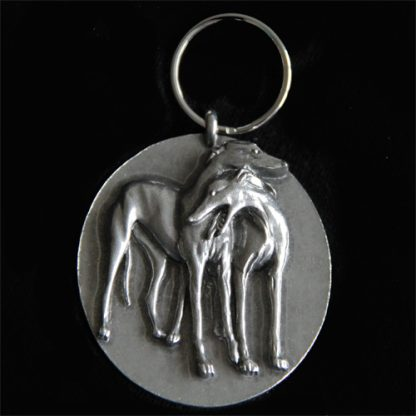 keychain two hounds